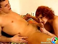 Look at mommy who likes to scream when fucked by her younger lover